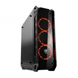 CC-COUGAR Case PANZER-G Middle ATX Black Tempered Glass USB 3.0
