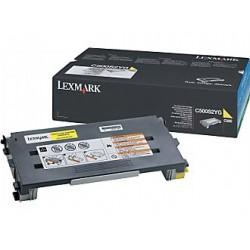 LEXMARK Toner Standard Yellow C500S2YG
