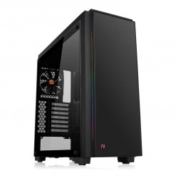 THERMALTAKE Case Versa C23 Tempered Glass RGB Middle ATX Black USB 3.0