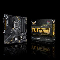 ASUS MOTHERBOARD TUF B360M-PLUS GAMING ,MATX,1151