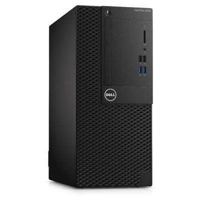DELL PC Optiplex 3050 MT/i3-7100/4GB/500GB HDD/HD Graphics 630/DVD-RW/Linux/5Y NBD