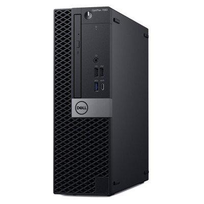 DELL PC Optiplex 7060 SFF/i7-8700/8GB/256GB SSD/UHD Graphics 630/DVD-RW/Win 10 Pro/5Y NBD