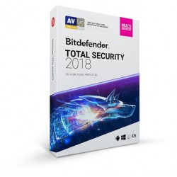BITDEFENDER TOTAL SECURITY MULTI DEVICE 2018 10 DEVICES 1 Year