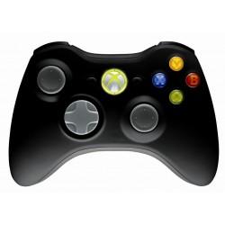 MICROSOFT Controller Xbox360, Wireless, Black