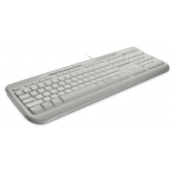 MICROSOFT Keyboard Wired 600, White