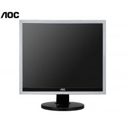 """MONITOR 17"""" TFT AOC 719VA BL-SL MU GB^ Resolution:1280 x 1024 Brightness:300 cd/m2 Contrast:30000:1 Inputs:VGA, DVI-D Viewing Angle:160 H/160 V Resolution^ Brightness^ Contrast^"""