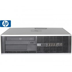 SET G2 HP 8000 ELITE SFF C2D-E8XXX/8GB/250GB/DVDRW/WIN7PC