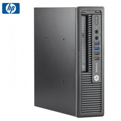 SET G2 HP 800 G1 USDT I3-4130/4GB/320GB/RW/WIN10PI REF