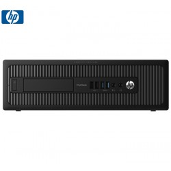 SET GA+ HP 600 G1 SFF I5-4570/4GB/256G-SSD-NEW/DVD/W10PI REF
