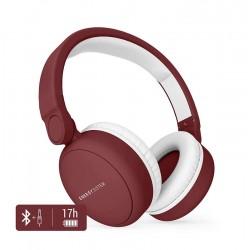 ENERGY SISTEM Bluetooth headphones 2, Mic, 40mm, 93dB, Line In, κόκκινo