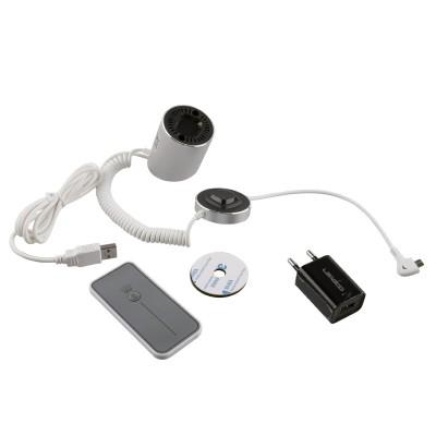 Αντικλεπτική βάση Smartphone με τηλεχειριστήριο