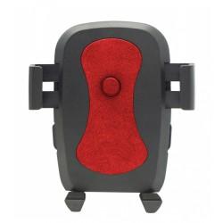 "Universal Βάση αυτοκινήτου C1 για Smartphone έως 6"", μαύρη-κόκκινη"