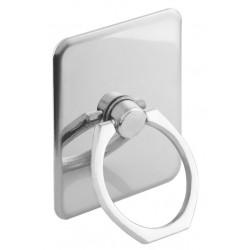 Metal ring holder ACC-226 για smartphones , ασημί