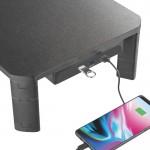 "BRATECK Επιτραπέζια βαση AMS-7 για οθόνη 17-32"", 3x USB 3.0, 20kg"