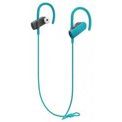 AUDIO-TECHNICA bluetooth earphones ATH-SPORT50BT, 9mm, πράσινα