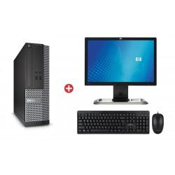 "Bundle DELL PC 3020 SFF, HP Οθόνη L2045W 20"", POWERTECH set PT-678"
