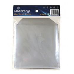 MEDIARANGE PP CD πλαστική θήκη με καπάκι - 50 τεμ.