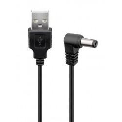 POWERTECH Καλώδιο USB 2.0(M) σε DC 5.5x2.5mm (F) CAB-U120, copper, 1.5m