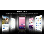 "CUBOT Smartphone King Kong Mini, 4"" HD+, 3/32GB, Quad-Core, 13MP, μαύρο"