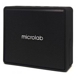 MICROLAB Φορητό ηχείο D15, bluetooth/3.5mm/SD Card, 3W RMS, μαύρο