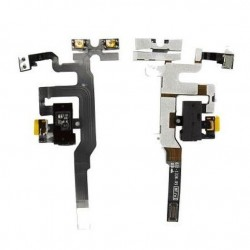 Flex cable with HF PLUG - iPhone 4S - WHITE