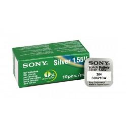 SONY Μπαταρία λιθίου για ρολόγια SR621SW, 1.55V, No364, 10τμχ