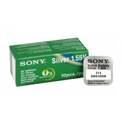 SONY Μπαταρία λιθίου για ρολόγια SR916SW, 1.55V, No373, 10τμχ