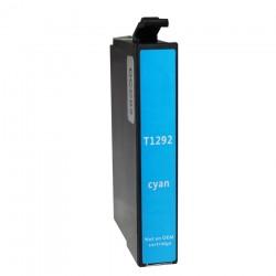 Συμβατό Inkjet για EPSON T1292, 12ml, Cyan