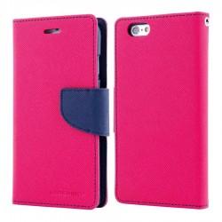 MERCURY Θήκη Fancy Diary για Huawei P10, Hot Pink/Navy