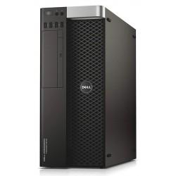 DELL WS 5810, E5-1607, 32GB, 4x 500GB HDD, DVD, K2200, Win 10 Pro, FR