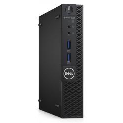 DELL PC 3050 Micro, i5-7500T, 8GB, 128GB SSD, Win 10 Pro, FR