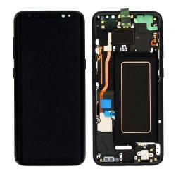 SAMSUNG Original  LCD & Touch Panel για Galaxy S8 G950F, Black