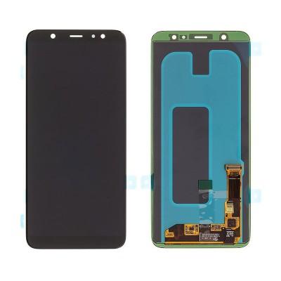 SAMSUNG Original LCD Touch Screen για Galaxy A6 2018 SM-A600F, μαύρη