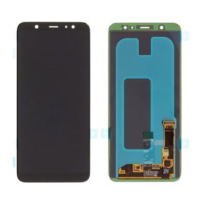 SAMSUNG Original LCD Touch Screen, Galaxy A6 Plus 2018 SM-A605FN, μαύρη