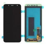 SAMSUNG Original LCD & Touch Panel για Galaxy J6 SM-J600F, Black