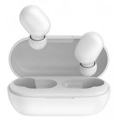 HAYLOU earphones GT1, true wireless, θήκη φόρτισης, touch control, λευκά