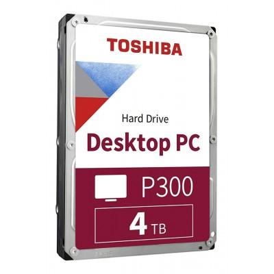 """TOSHIBA Σκληρός Δίσκος P300 HDWD240, 4TB, 3.5"""", 128MB, 5400RPM, SATA III"""
