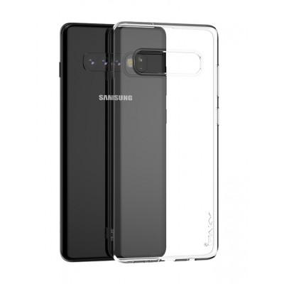 IPAKY Θήκη Effort TPU & Screen Protector για Samsung S10, διάφανη