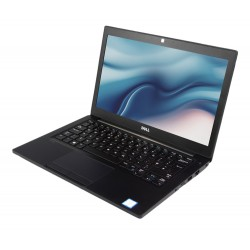 "DELL Laptop 7280, i5-7200U, 8GB, 256GB M.2, 12.5"", Cam, REF FQ"