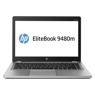 """HP EliteBook Folio 9480m, i5-4310U, 8GB, 320GB HDD 14"""", Cam, REF FQC"""