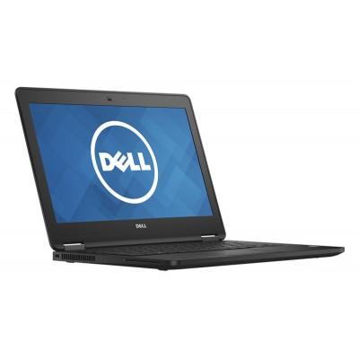 """DELL Laptop E7270, i5-6300U, 8GB, 128GB M.2, 12.5"""", Cam, REF SQ"""