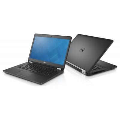 """DELL Laptop E5470, i5-6300U, 8GB, 256GB M.2, 14"""", Cam, REF FQ"""