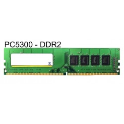 MAJOR used RAM U-Dimm (Desktop) DDR2, 2GB PC5300 667MHz