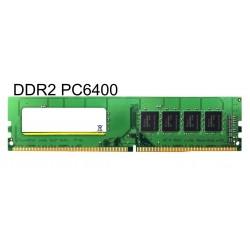 MAJOR used RAM U-Dimm μνήμη (Desktop) DDR2, 1GB PC6400
