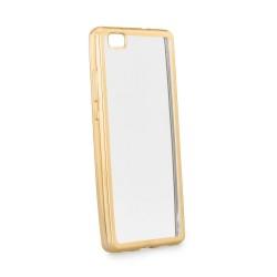 POWERTECH Θήκη Metal TPU για Huawei P8 Lite 2017,Gold