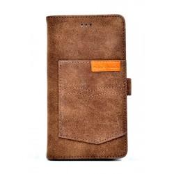 "POWERTECH Θήκη Pocket UniFlip Universal για Smartphone 5.6 - 6"", μπεζ"