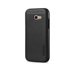 POWERTECH Θήκη Carbon Armor Hybrid για Samsung Galaxy A3 2017, Black