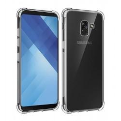 POWERTECH Θήκη Clear 0.5mm για Samsung A8 Plus 2018, διάφανη