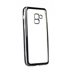 POWERTECH Θήκη Metal TPU για Samsung Galaxy A8 2018, Black