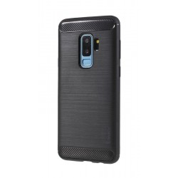 POWERTECH Θήκη Carbon Flex για Samsung Galaxy S9 Plus, μαύρη